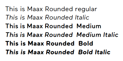 Hello Ruby Maax Rounded Regular